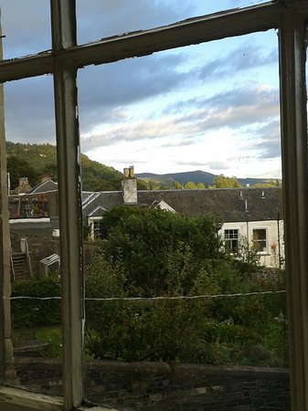 Tontine Hotel Peebles Scottish Borders: View from the dining room