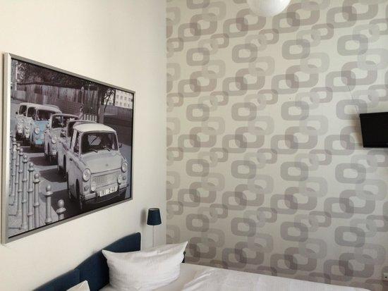 Jugendhotel berlincity : zimmer 105