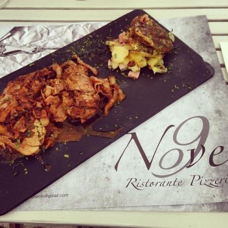 Nove Ristorante Pizzeria: saltimbocca