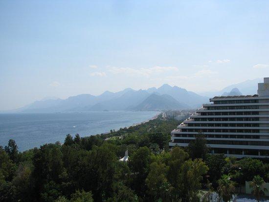 Ozkaymak Falez Hotel: Вид из номера