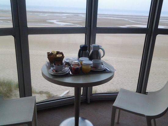 Novotel Thalassa Le Touquet : petit dejeuner en chambre sans supplément