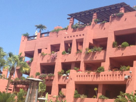 The Ritz-Carlton, Abama: de la terrasse bar de l'hôtel