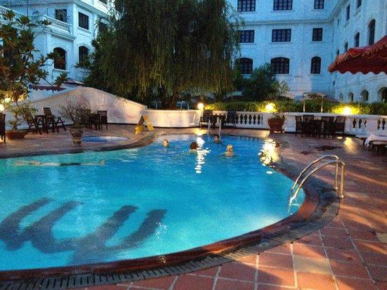 Hotel Saigon Morin : piscine très agréable