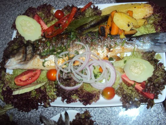 Pagona's Place: sea bass
