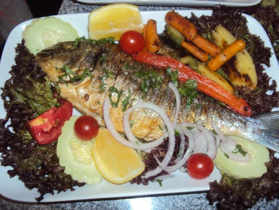 Pagona's Place: sea bream