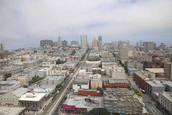 San Francisco Inn: Ein Blick aus dem Hotelzimmer