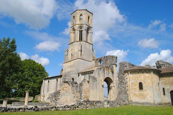 Abbaye de la Sauve-Majeure : Tour-clocher