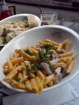 pollo funghi - Picture of Happy Italy, Rotterdam - TripAdvisor