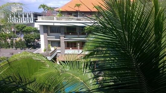 The Vira Bali Boutique Hotel & Suite: taken from balcony