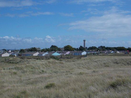 VVF Villages Port-Bail : vue depuis les dunes