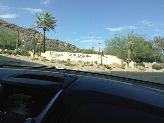 JW Marriott Scottsdale Camelback Inn Resort & Spa: Entrata