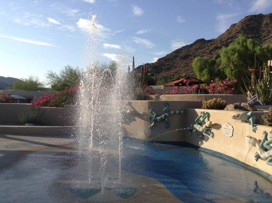 JW Marriott Scottsdale Camelback Inn Resort & Spa: Gioco d'acqua della piscina
