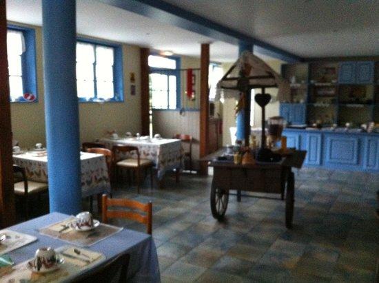 Chateau de la Roque : Sala colazione