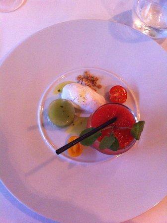 Hôtel La Fauceille : Le menu découverte, très bon
