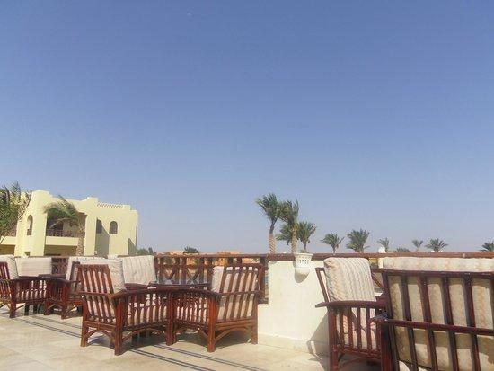 Panorama Bungalows Resort El Gouna: Террасса