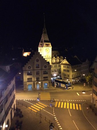 City-Hotel Ochsen Zug : enchanting view of the zuger lake