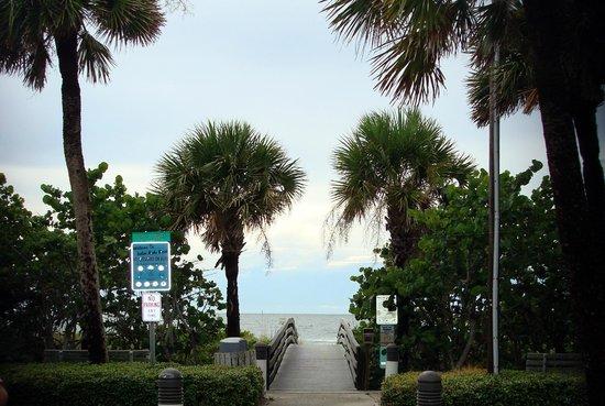 Sea Star Motel & Apts.: Direct beach access