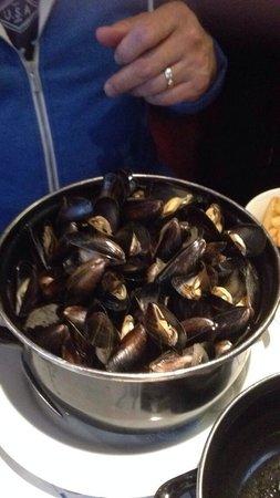 Hotel et Restaurant Hamiot : Moules et frites xxx