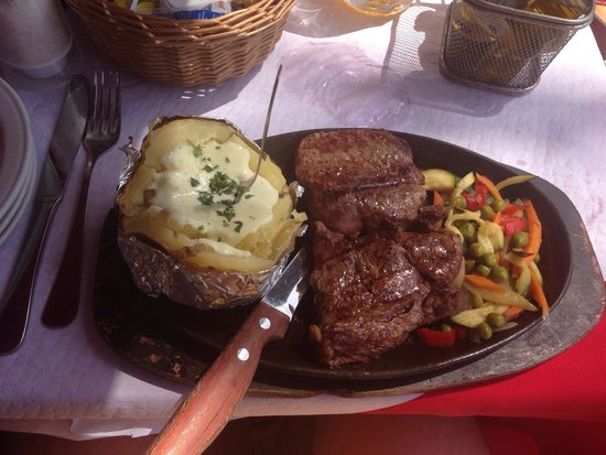 Restaurante La Red: Pièce de bœuf argentine