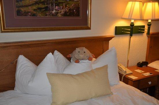 The Van Buren Hotel at Shipshewana : Very comfortable rooms!