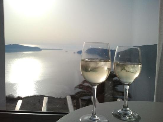 Rocabella Santorini Resort & Spa: tramonto