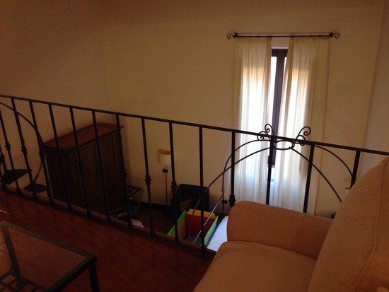 Palazzo Piccolomini: Soppalco junior suite