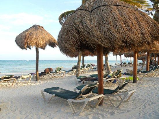 Dreams Tulum Resort & Spa: Spiaggia