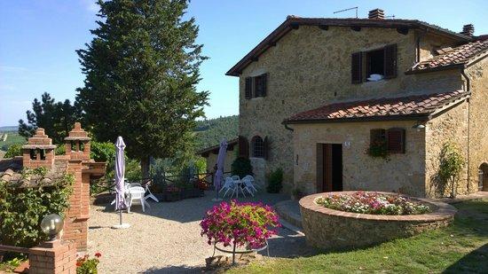 Podere Val di Gallo: Façade principale des locations