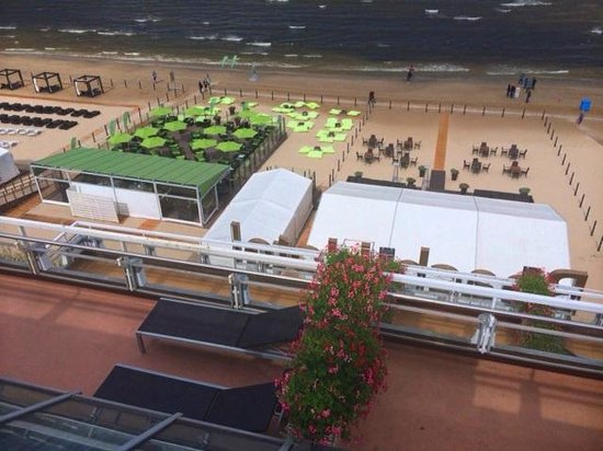 Baltic Beach Hotel & SPA: Seen from one of the balconyes