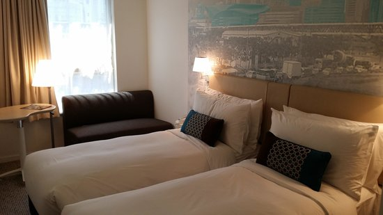 OZO Wesley Hong Kong : twin room