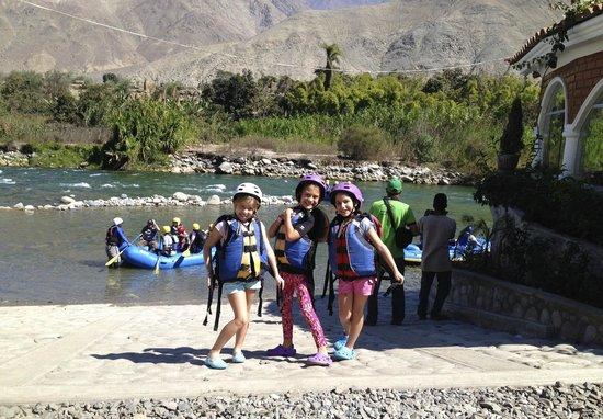 Hotel Lunahuana River Resort: rafting