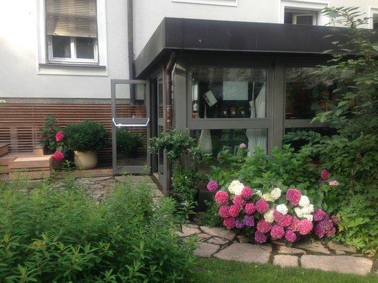 Hotel&Villa Auersperg: ホテル庭園