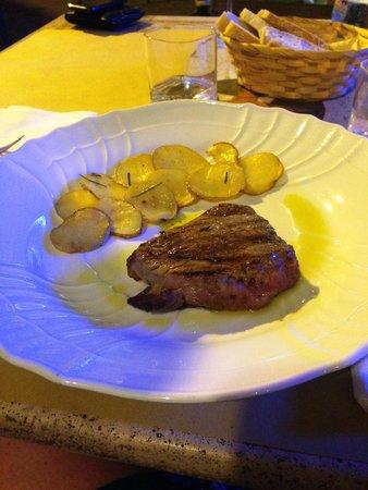 Osteria De' Cenci: Filetto di manzo