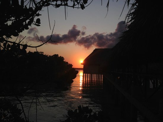 The Sands At Chale Island: tramonto