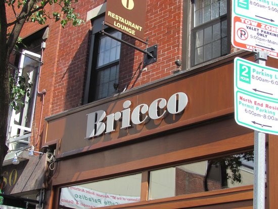 Bricco Suites : Outside photo; the hotel is above their restaurant