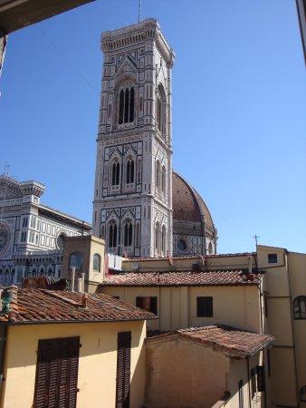 Residenza Giotto: Vista dalla finestra della camera