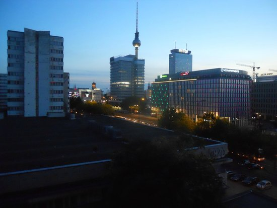 Mercure Hotel Berlin am Alexanderplatz: Vista dal quinto piano