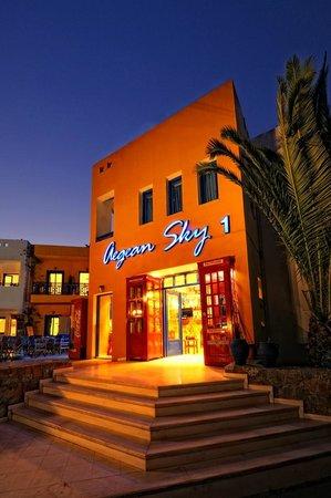 Aegean Sky Hotel & Suites: Aegean Sky ...Reception