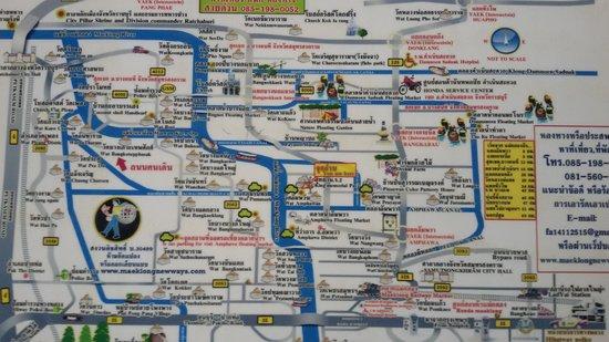Baan Siriporn Resort: area map