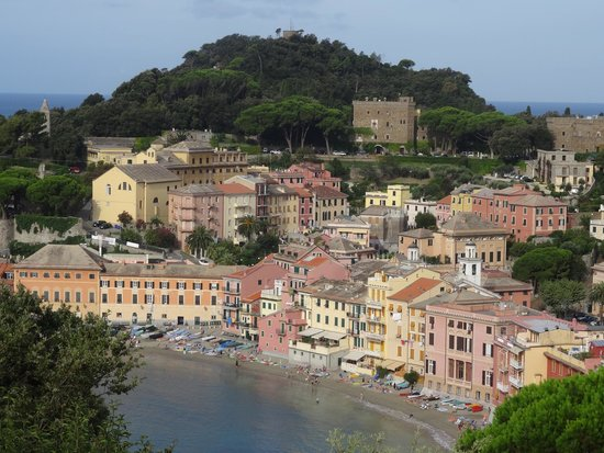 Vis a Vis Hotel : Nice view from room of Silent Bay in Sestri Levante