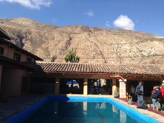 San Agustin Urubamba Hotel: Friendly garden