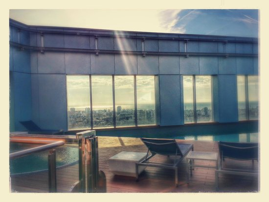 Novotel Barcelona City: Piscine
