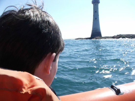 Voyages of Discovery (Ramsey Island): Smalls Lighthouse