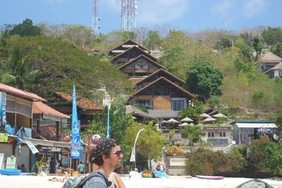 Lembongan Island Beach Villas: close to the beach