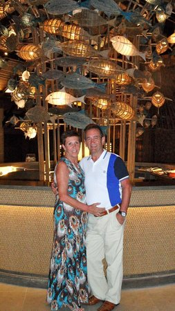 Cape Panwa Hotel: Sister and hubby was her 65th birthday!