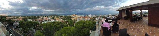 Grupotel Gran Vista & Spa: rooftop bar view