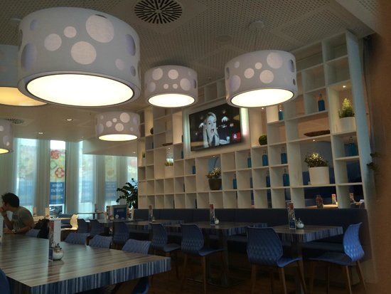 H2 Hotel Muenchen Messe : cafeteria