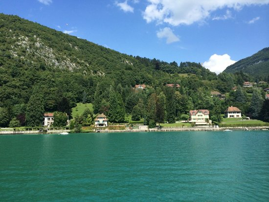 Lac d'Annecy : View from the boat
