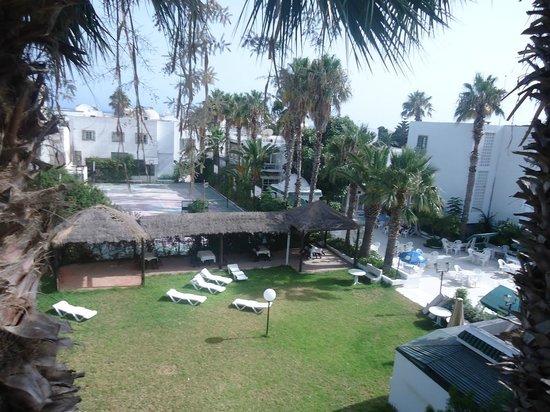 Hotel Emira: Vue de la chambre