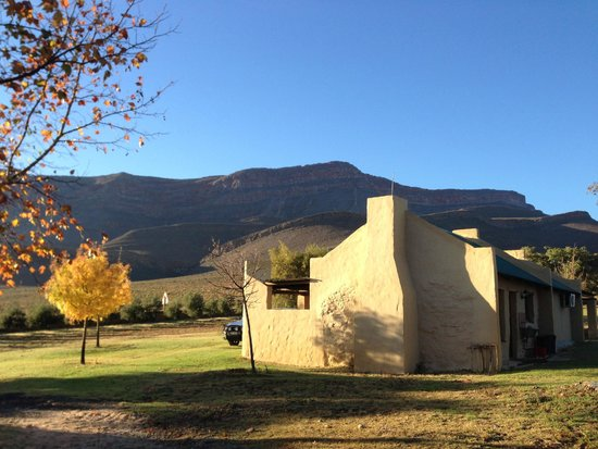 Mount Ceder Guest Cottages: one of the simplest houses